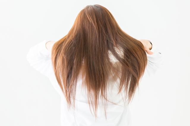 白髪と枝毛