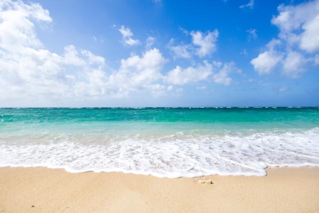 海と白髪染め