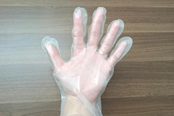グローブ洗う
